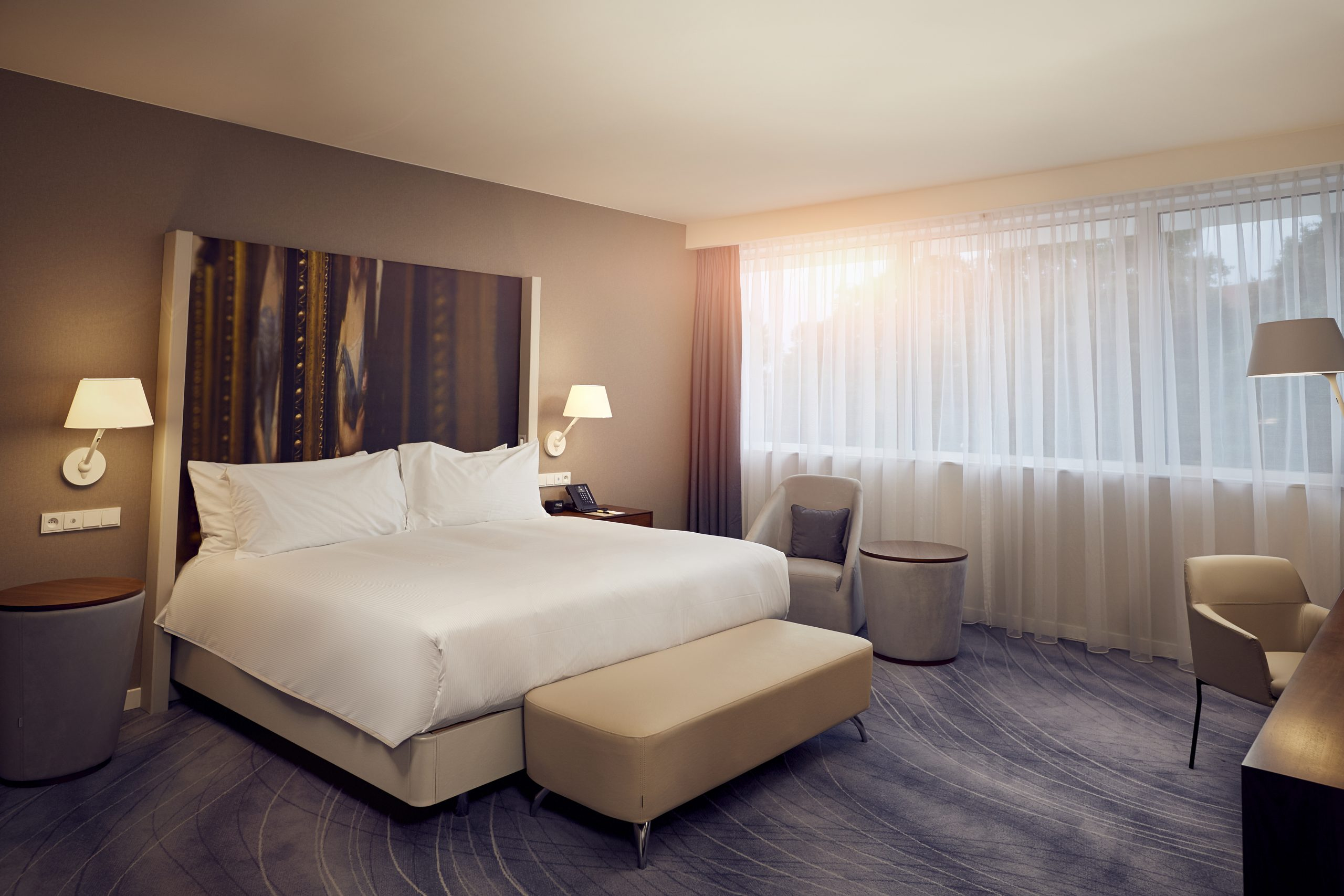 Double Tree Wroclaw - Presidential Suite - Bed